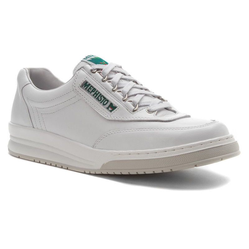 Mephisto Men's Match - White Leather