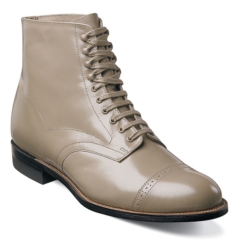 Stacy Adams Men's Madison Ankle Boot - Taupe