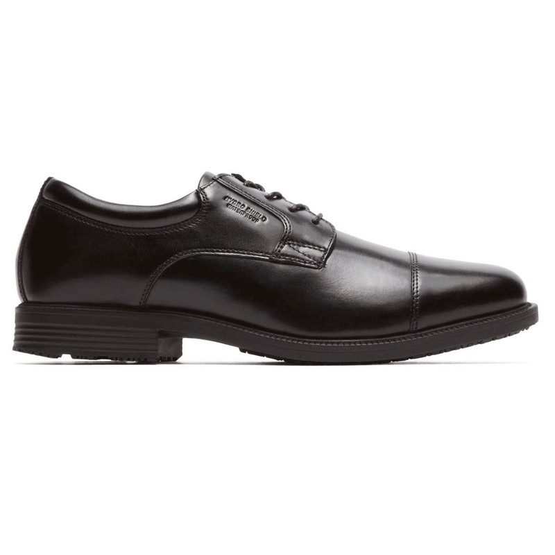 Rockport Men's Essential Details WP Cap Toe - Black