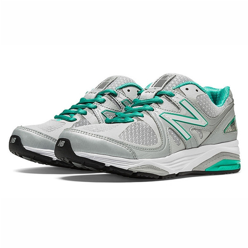 New Balance 1540v2 Women's Stability & Motion Control - Silver / Mint Green - W1540SG2 - Main Image