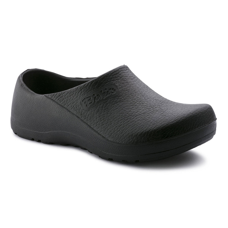 Birkenstock Profi-Birki Polyurethane - Black (Regular Width) - 74011 - Angle