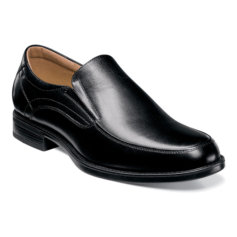 Florsheim Midtown Moc Toe Slip On - Black