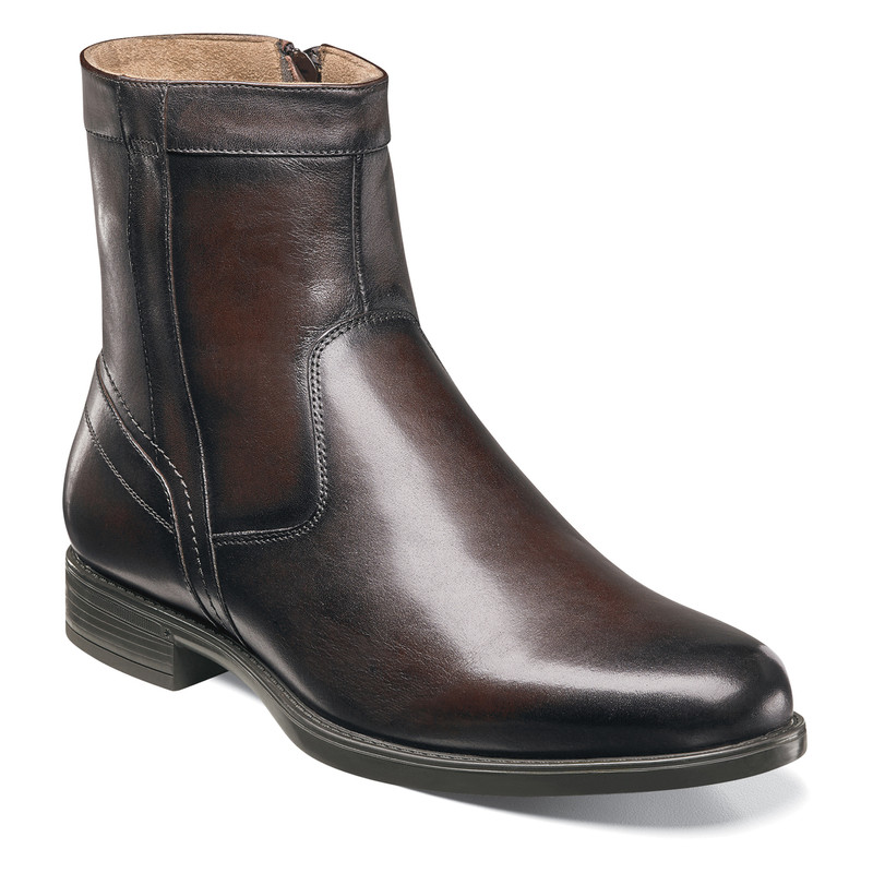 Florsheim Men's Midtown Zipper Boot - Brown