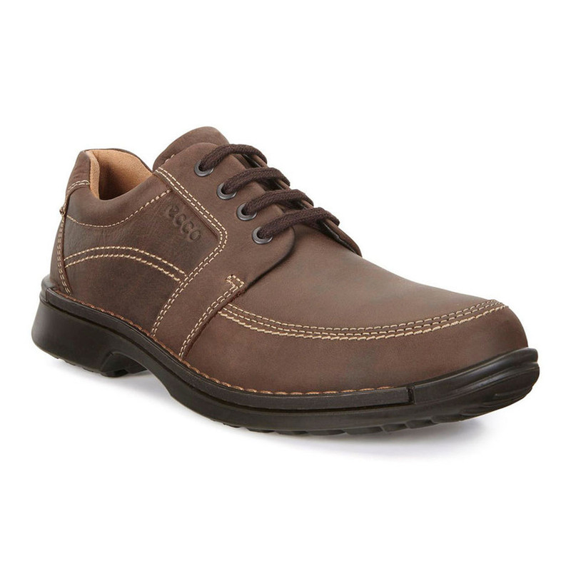 ECCO Men's Fusion II Tie - Cocoa Brown - 500104-02482 - Angle