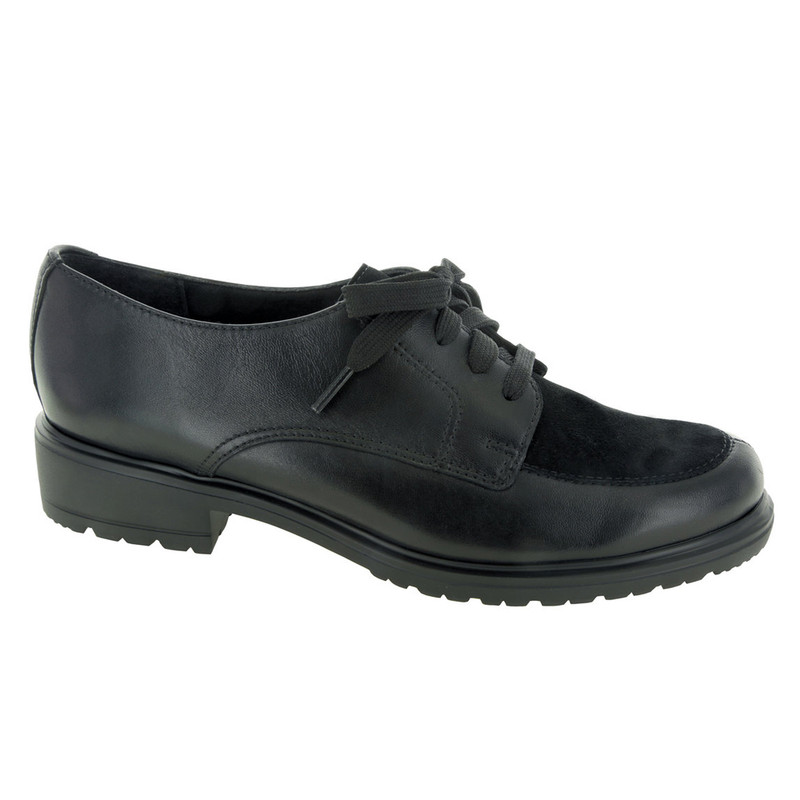 Munro Women's Veranda - Black Leather / Black Suede