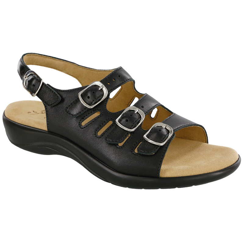 SAS Women's Mystic Sandal - Black
