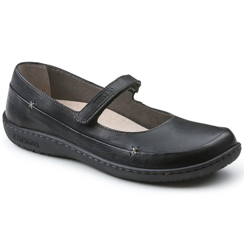 Birkenstock Women's Iona - Black (Regular Width) - 433061 - Angle