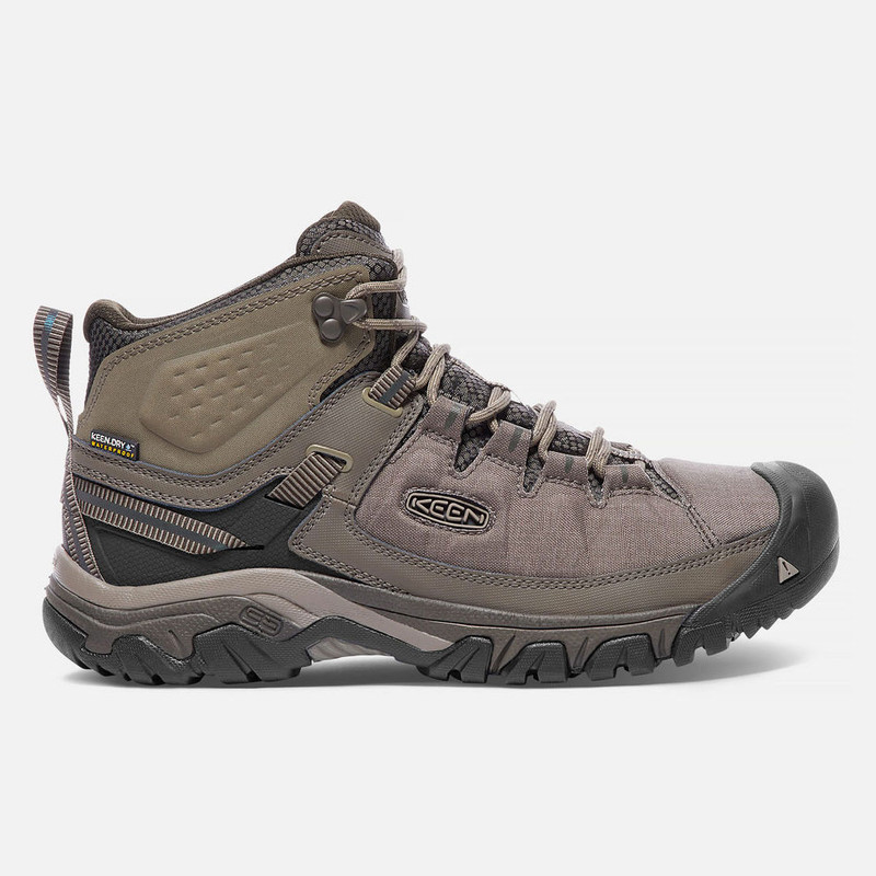Keen Men's Targhee Exp Waterproof Mid - Bungee Cord / Brindle