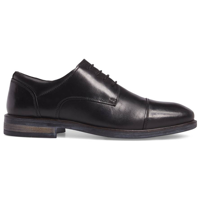 Josef Seibel Men's Myles 19 Cap Toe - Black