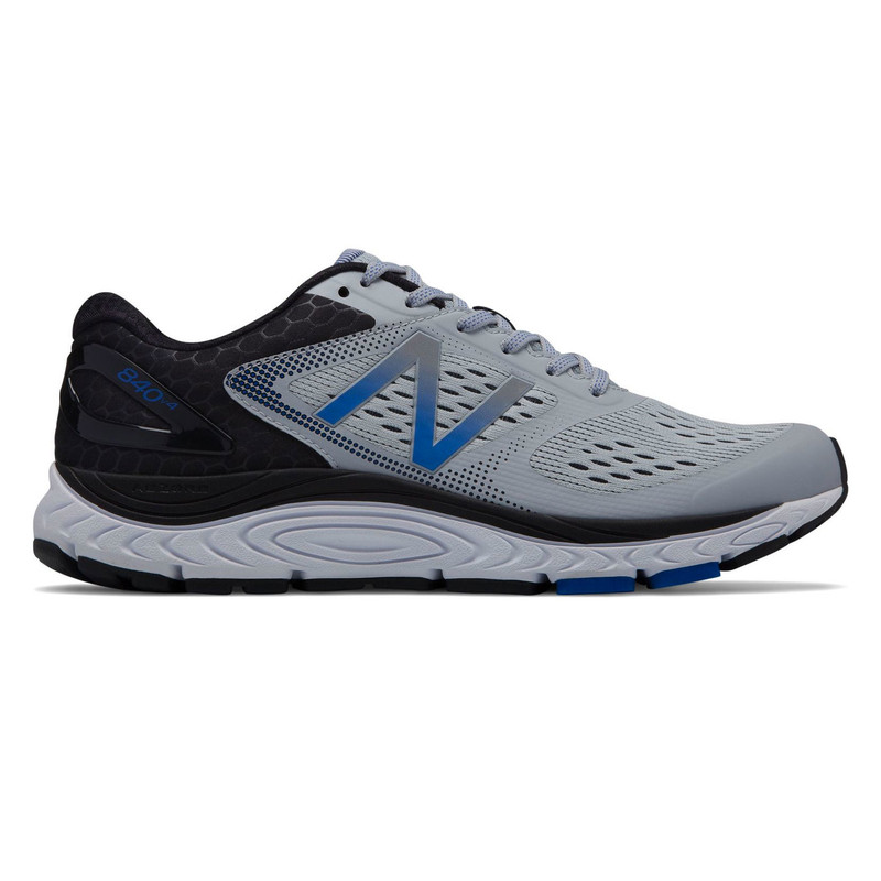 New Balance 840v4 Men's Running - Silver Mink with Team Royal