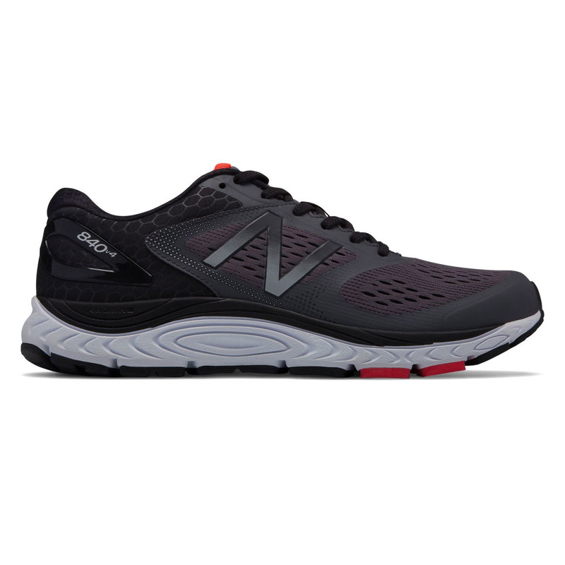 New Balance 840v4 Men's Running - Magnet with Energy Red
