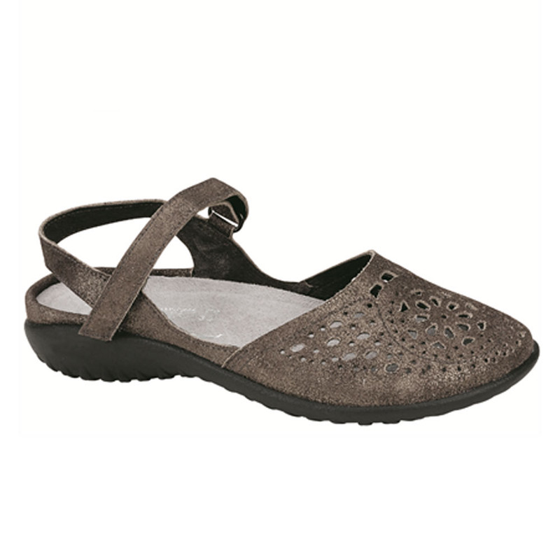 Naot Women's Arataki - Gray Shimmer Leather