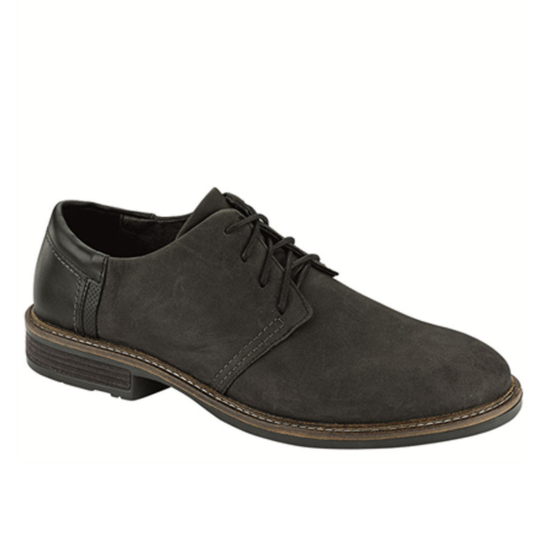 Naot Men's Chief - Oily Coal Nubuck / Black Raven / Onyx