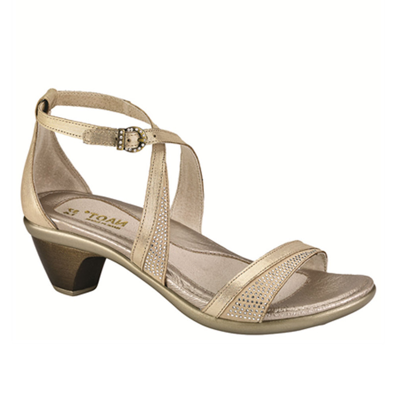 Naot Women's Onward - Gold Threads / Beige with Crystals