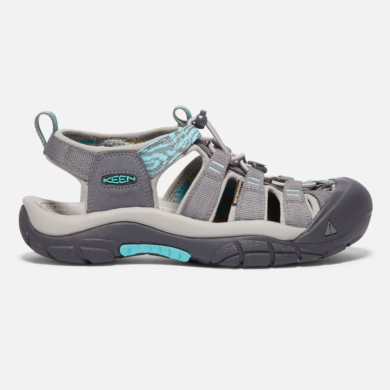 Keen Women's Newport Hydro - Steel Grey / Blue Turquoise