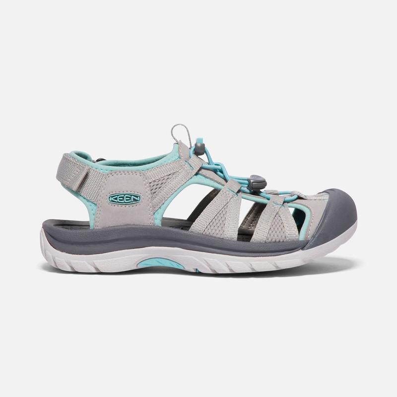 Keen VENICE II - Walking sandals - paloma/pastel turquoise M01aJVRsY