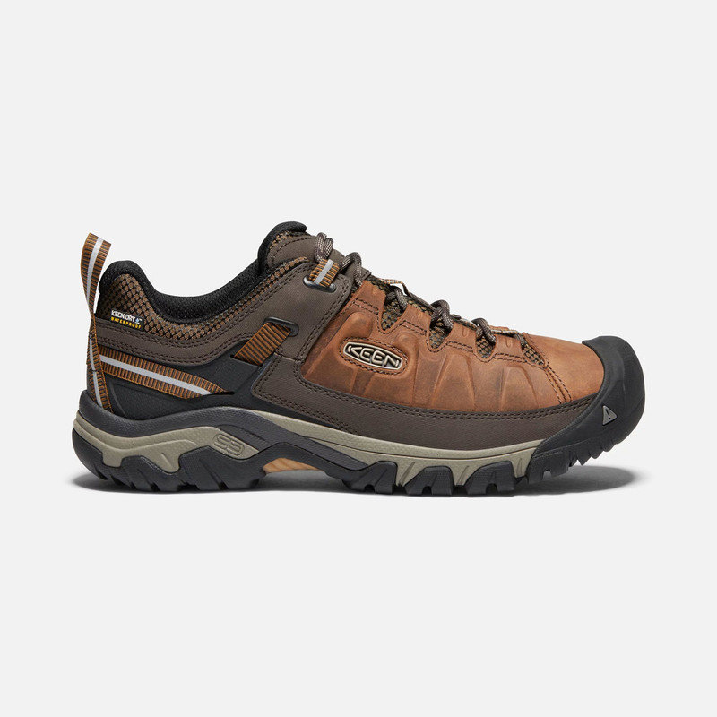 Keen Men's Targhee III Waterproof - Big Ben / Golden Brown