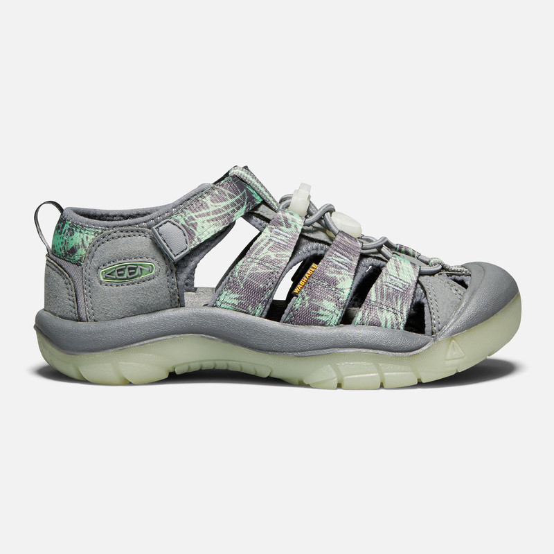 Keen Kid's Newport H2 (Youth) - Steel Grey / Glow