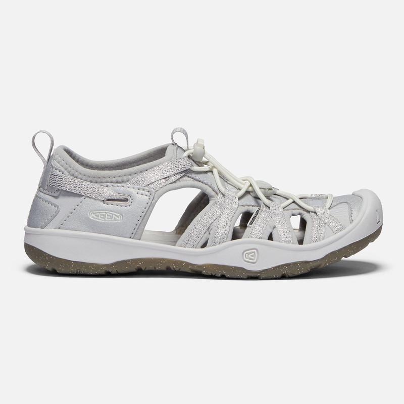 Keen Big Kid's Moxie Sandal - Silver