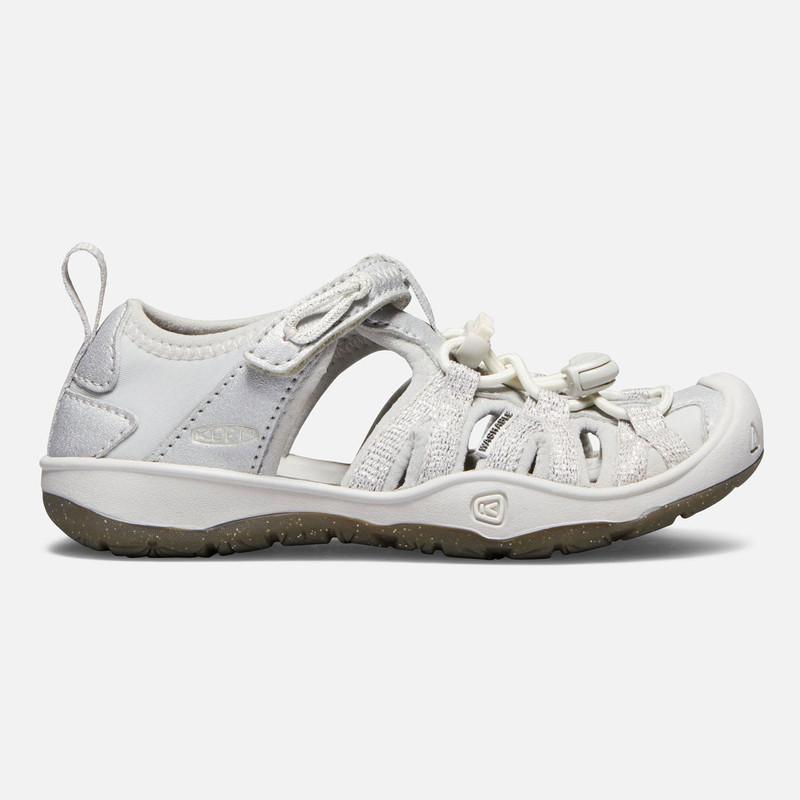 Keen Little Kid's Moxie Sandal - Silver