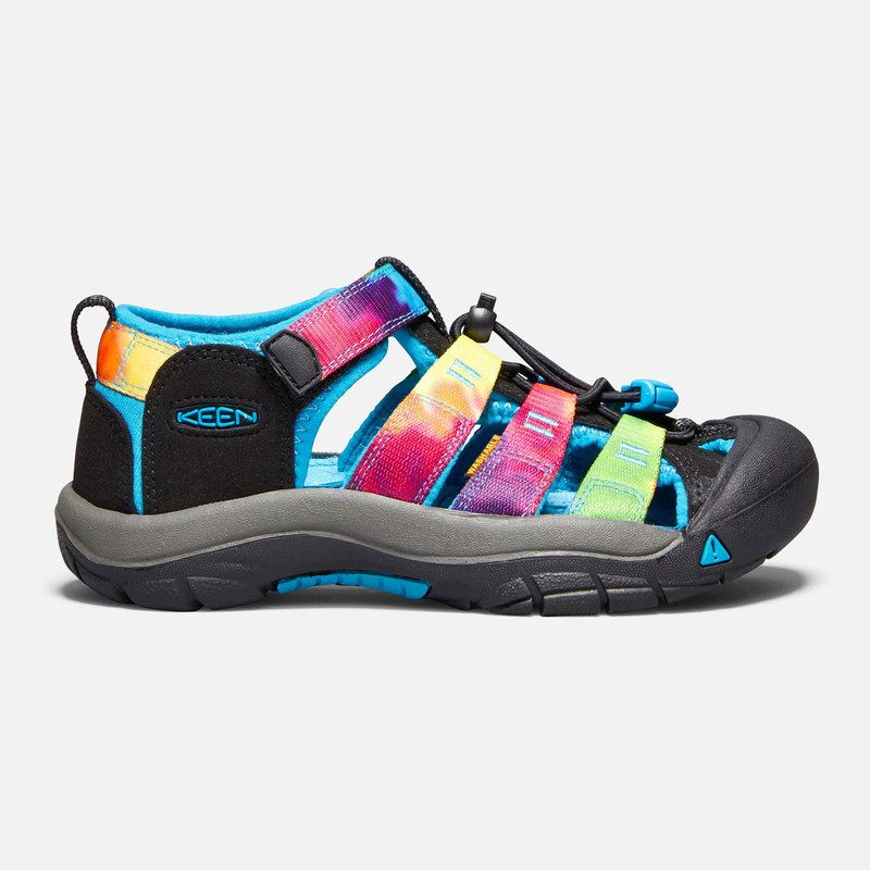 Keen Kid's Newport H2 (Youth) - Rainbow Tie Dye