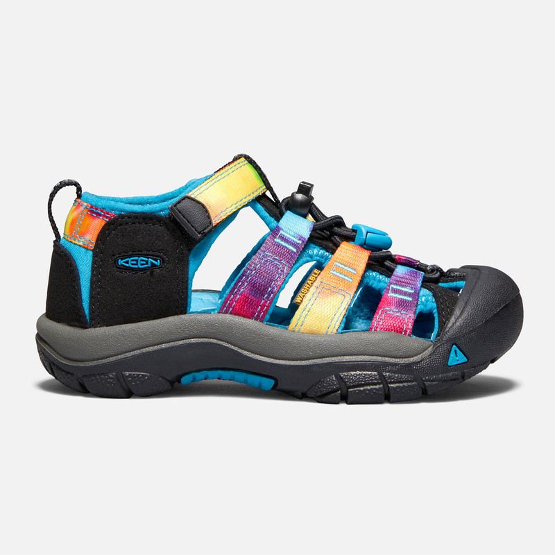 Keen Kid's Newport H2 (Toddler) - Rainbow Tie Dye