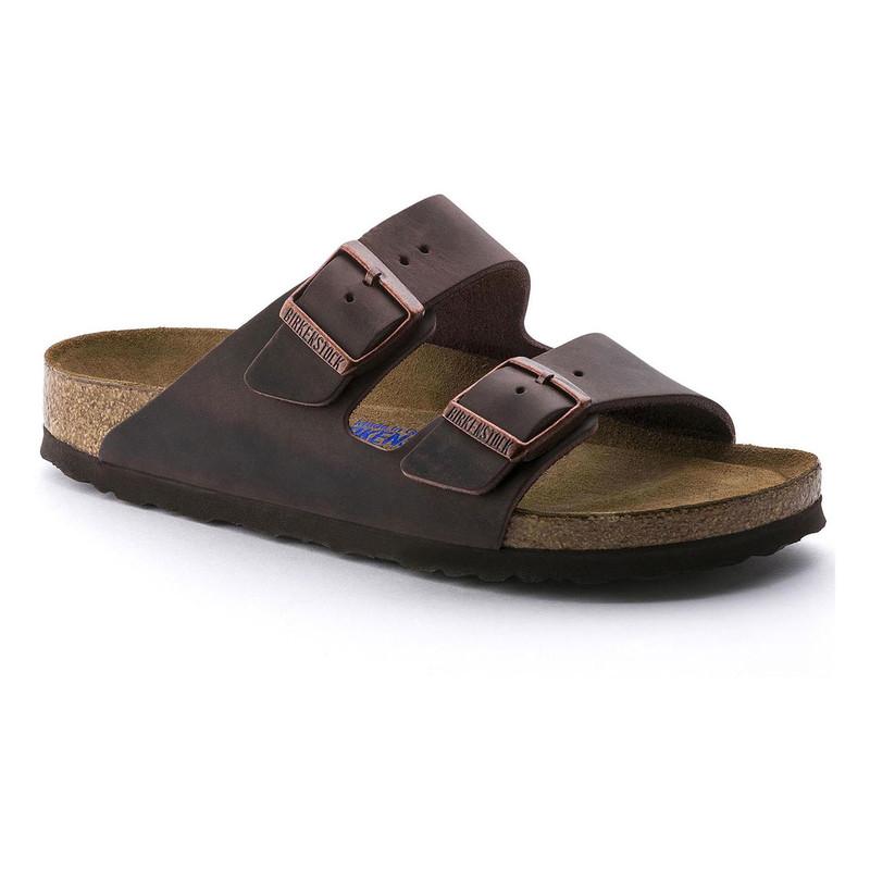 Birkenstock Arizona Soft Footbed - Habana Oiled Leather (Regular Width)