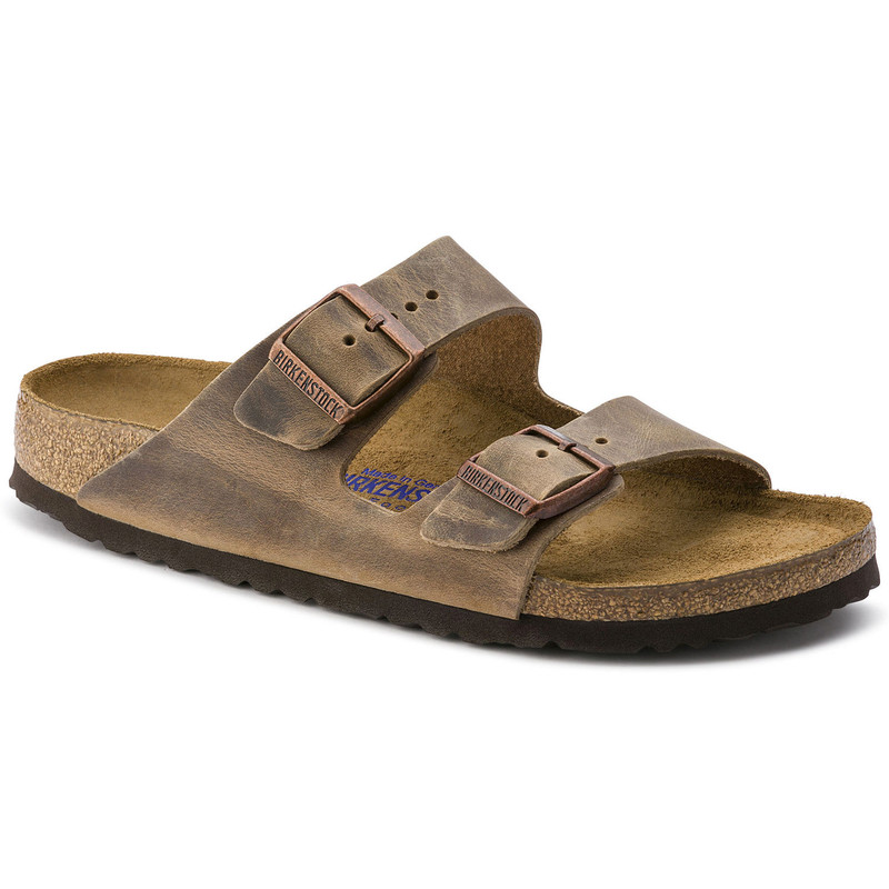 Birkenstock Arizona Soft Footbed - Tobacco Brown Oiled (Narrow Width)