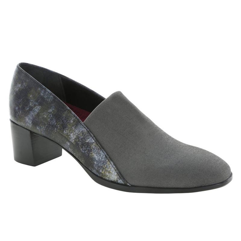 Munro Women's Billee - Grey Fabric / Grey Lizard