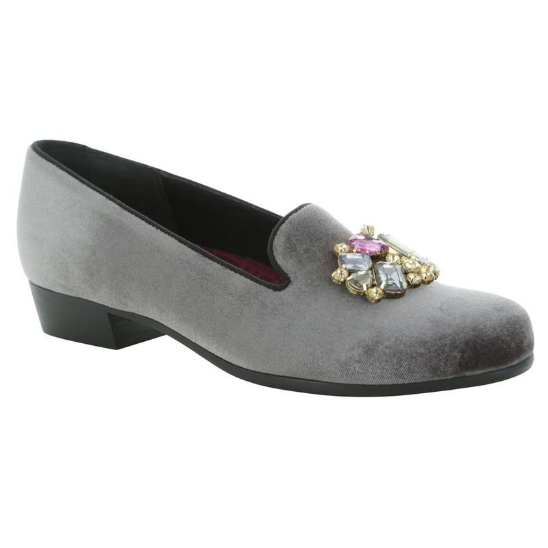 Munro Women's Cerise II - Grey Velvet
