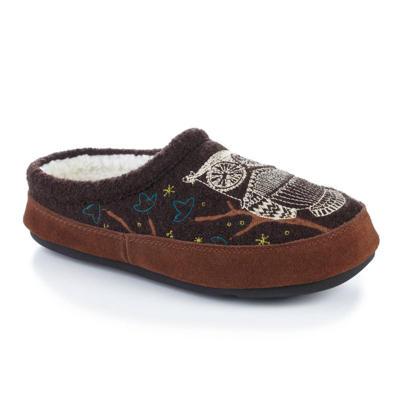 Acorn Women's Forest Mule Slipper - Chocolate