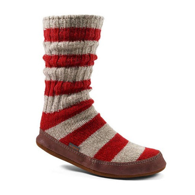 Acorn Unisex Slipper Socks - Alpine Ragg Wool - A10118/RSR