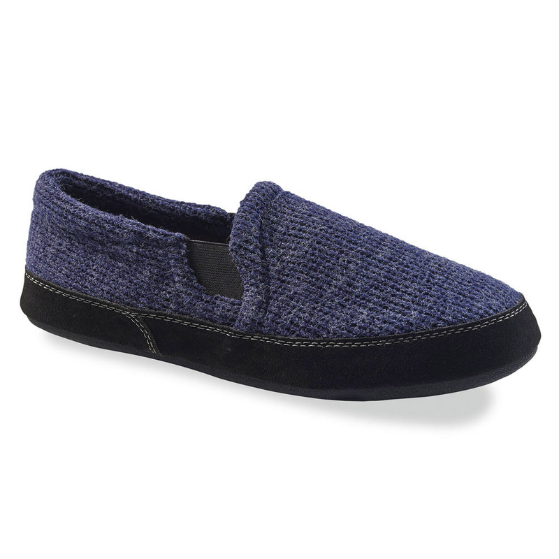 Acorn Men's Fave Gore Slipper - Navy Knit