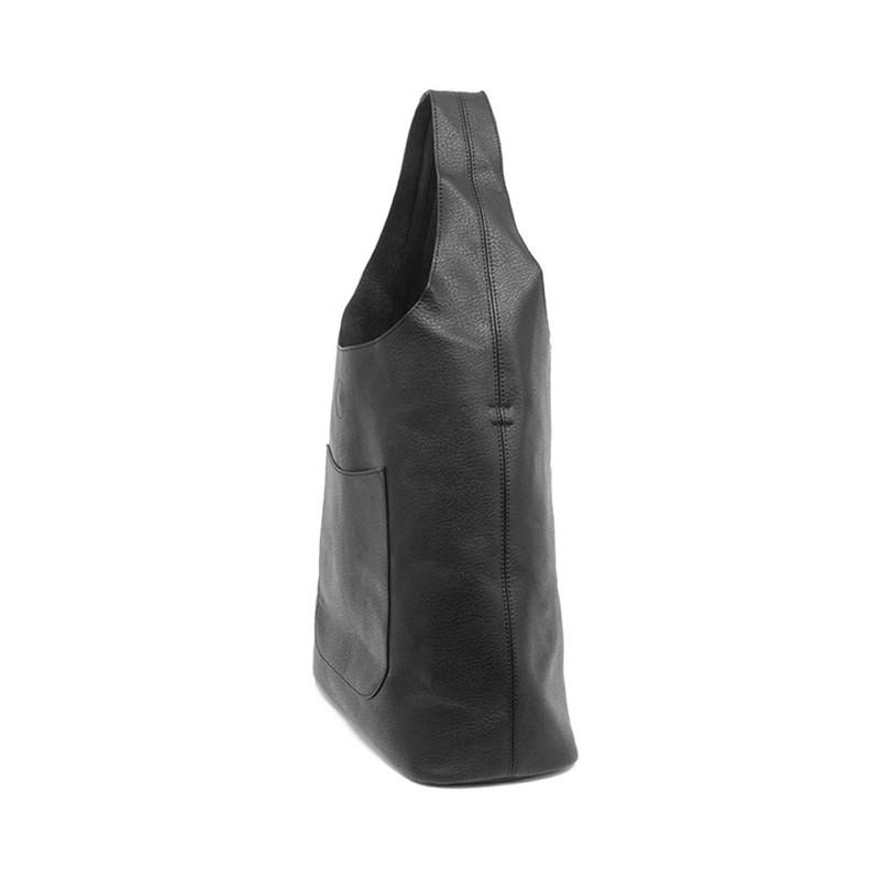 Joy Susan Molly Slouchy Hobo Handbag - Black