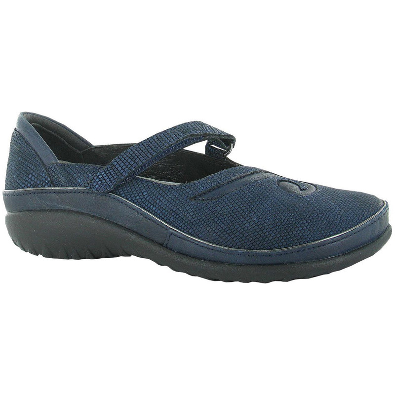 Naot Women's Matai - Navy Reptile Leather / Ink