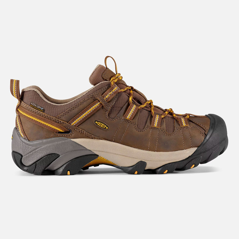 Keen Men's Targhee II Wide - Cascade Brown / Golden Yellow