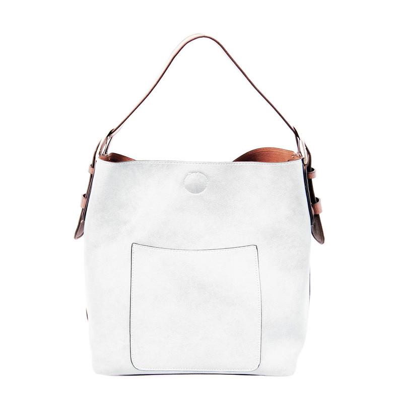 Joy Susan Classic Hobo Handbag - White
