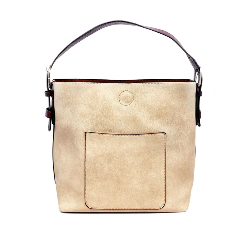 Joy Susan Classic Hobo Handbag - Putty