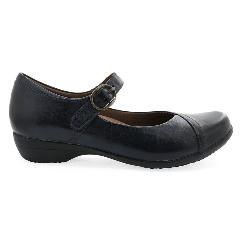 Dansko Women's Fawna - Navy Burnished Calf