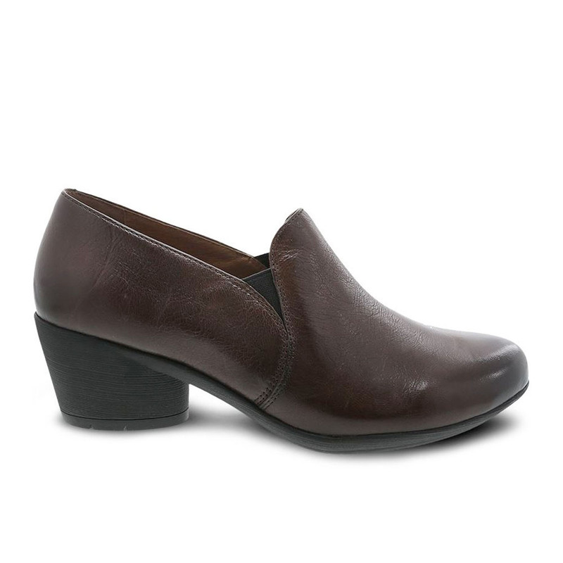 Dansko Women's Robin - Chocolate Burnished Calf