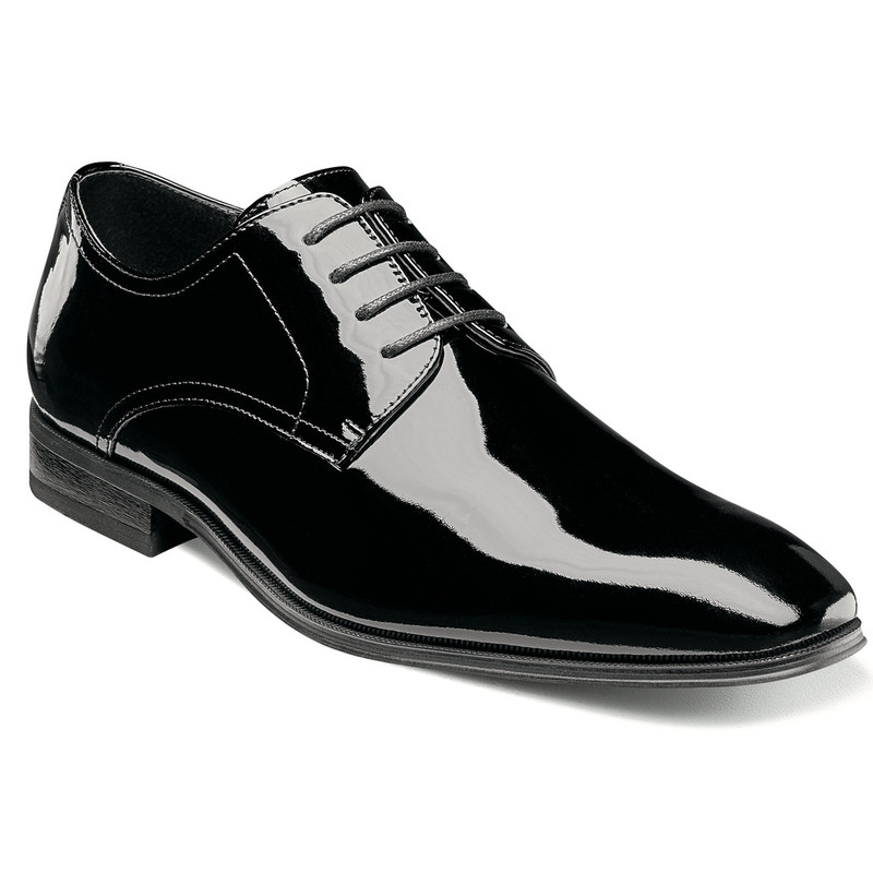 Florsheim Men's Tux Plain Toe - Black Patent Leather