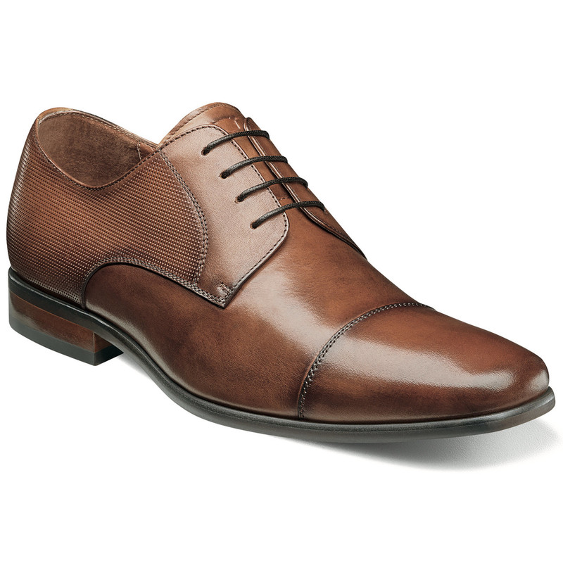 Florsheim Men's Postino Cap Toe Oxford - Cognac