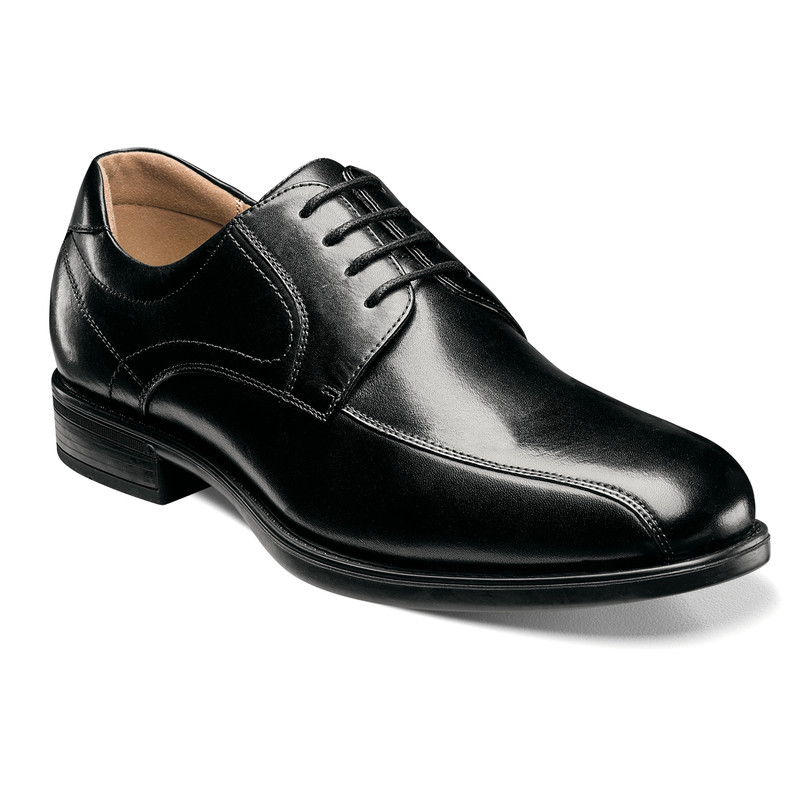Florsheim Men's Midtown Bike Toe Oxford - Black