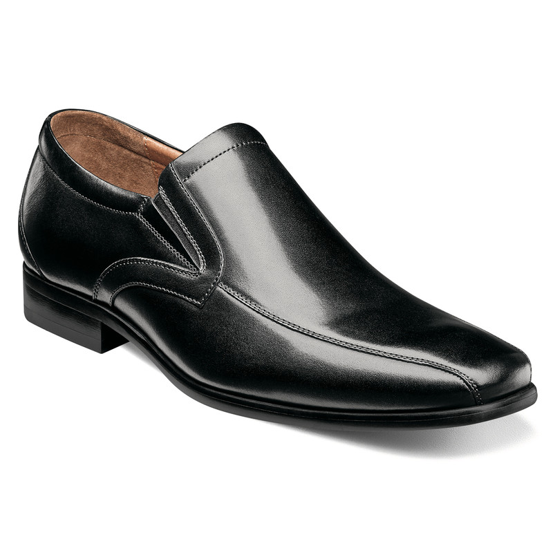 Florsheim Men's Postino Bike Toe Slip On - Black