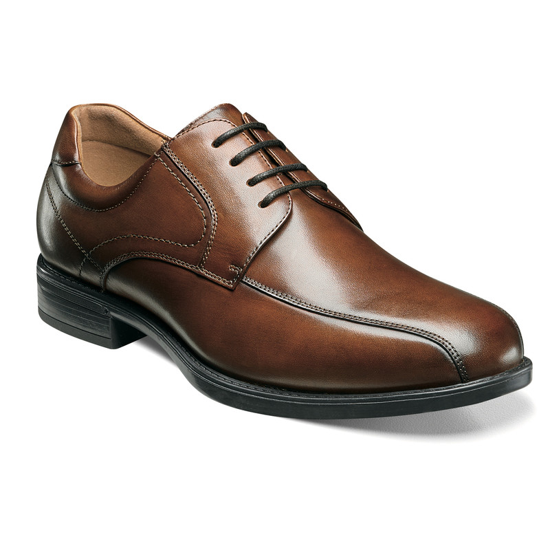 Florsheim Men's Midtown Bike Toe Oxford - Cognac