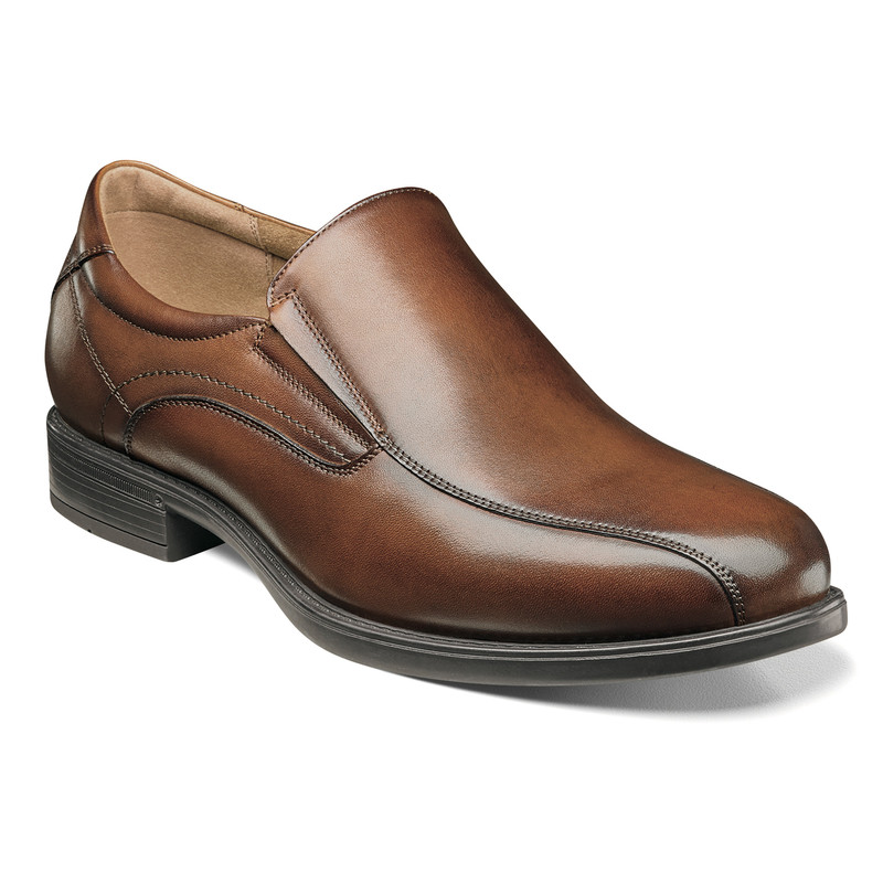 Florsheim Men's Midtown Bike Toe Slip On - Cognac