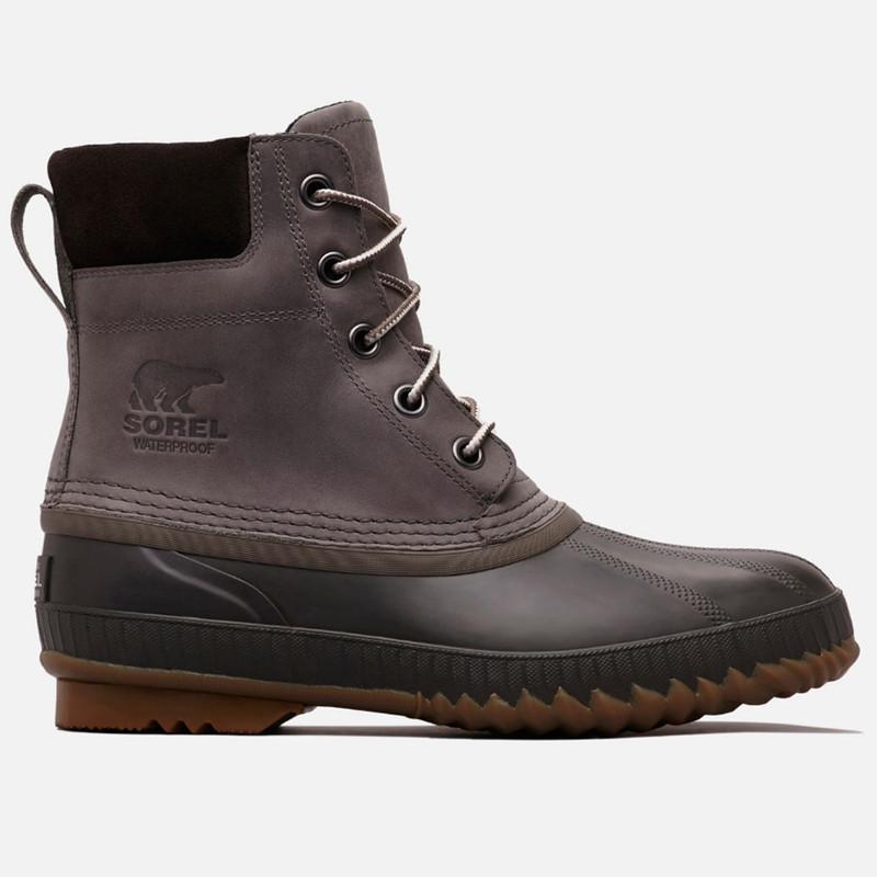 SOREL Men's Cheyanne™ II Lace Duck Boot - Quarry / Buffalo - 1750241-052 - Profile