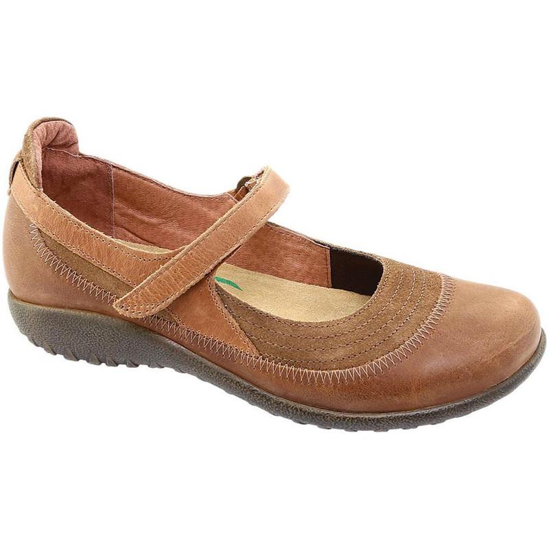 Naot Women's Kirei - Antique / Saddle / Latte Brown Leather