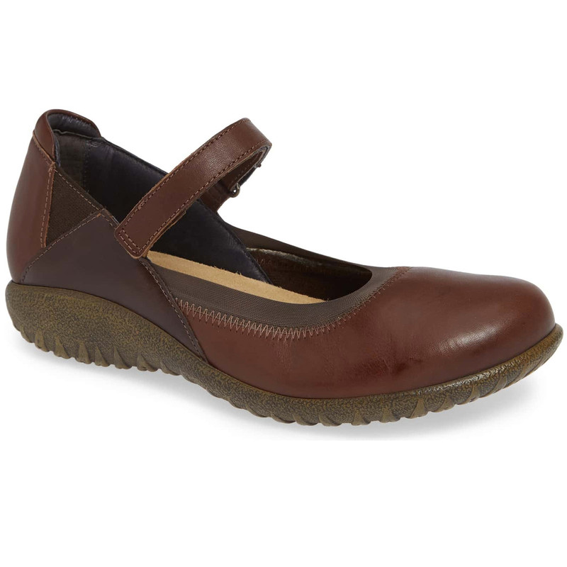 Naot Women's Kaoti Mary Jane - Toffee / Walnut