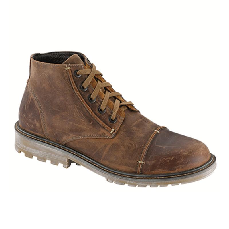 Naot Men's Mikumi - Crazy Horse Leather / Desert Suede
